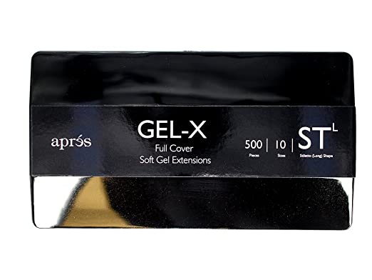 Apres Gel X Tips (Stiletto Long) by Apres
