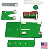 Glass Bottle Cutter Kit - Glass Cutter for Beer Bottles - Wine Bottle Cutting Tool to Cut Wine Glasses from Wine Bottles - Ephrems Deluxe Bottle Cutter Tool with Extreme Size Attachment and Adaptor