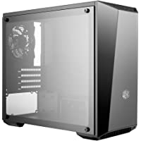 Cooler Master MCW-L3S3-KGNN-00 Case with Dark Mirror Front Temper Glass Side Panel, MATX