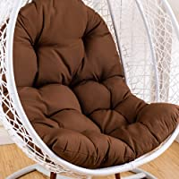 Hanging Basket Seat Cushion Waterproof Thicken Swing Egg Chair Cushion for Indoor Outdoor Patio Garden Swing Chair…