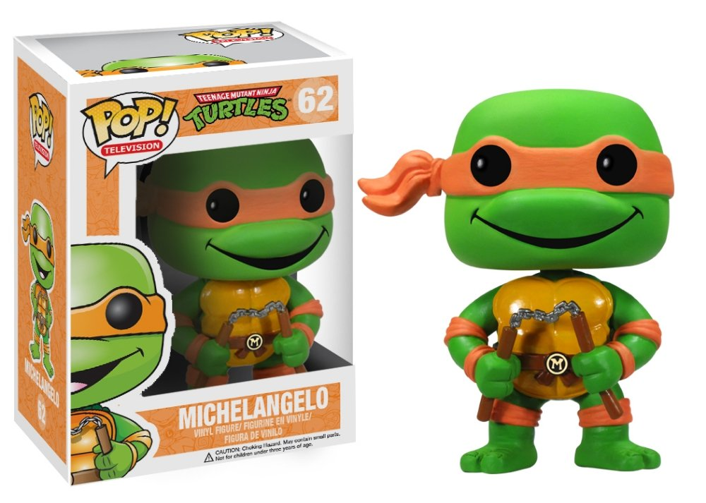 adfdbd8c833 FUNKO POP! TELEVISION  Teenage Mutant Ninja Turtles - Michelangelo ...