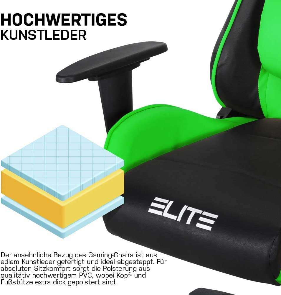 miweba elite mg 200 gaming stuhl