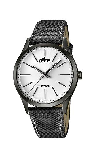 Lotus para Hombre Smart Casual Cuarzo Reloj analógico Diversos Materiales 18165/1: Lotus: Amazon.es: Relojes