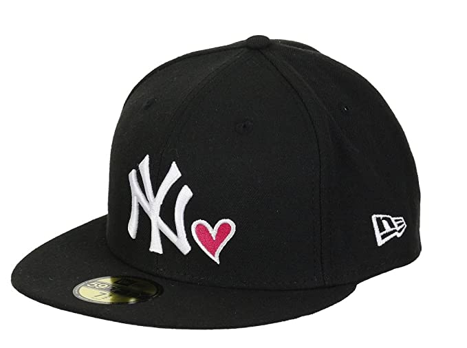 A NEW ERA York Yankees Gorra – 59 Fifty – NY Love – Black/White