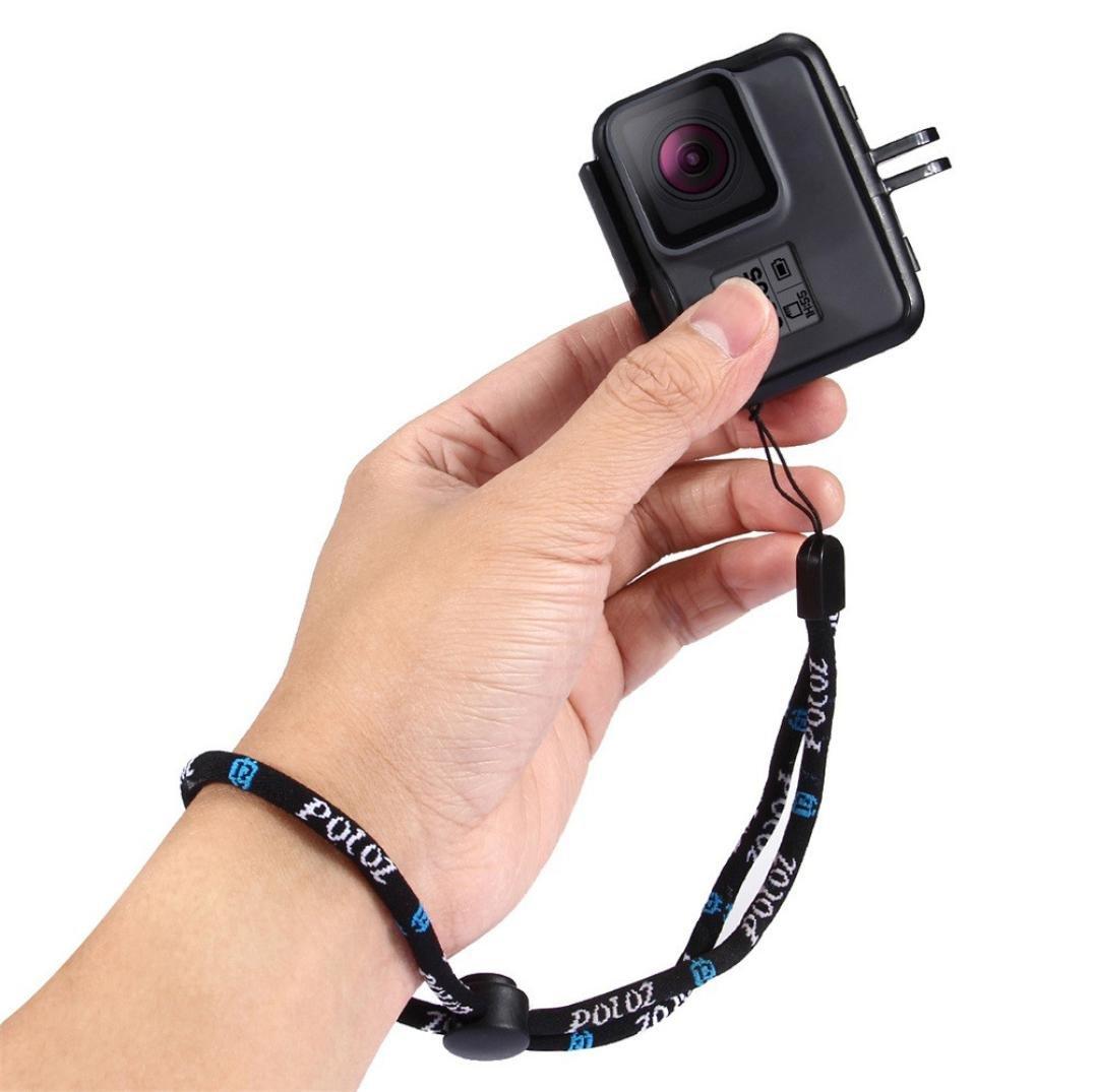 カメラ手首ストラップ、sukeq耐久性快適な調節可能な手Lanyardストラップfor iPhoneカメラGoPro B07C26LGFR