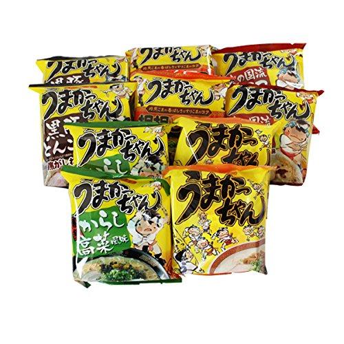 (Japanese Instant Noodle Umakacchan Variety Pack 10 Servings (2 X 5flavor))