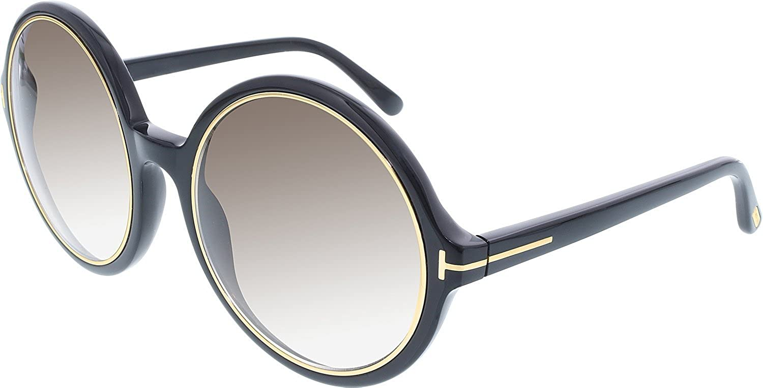 29bd841aa8c42 Amazon.com  Tom Ford Sunglasses TF 268 BLACK 01F Carrie  Tom Ford  Clothing