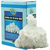 BPS (R) Anillos de Cristal Bio Anillos de Cerámica Filtro Filtrante Acuario Depurador 450g