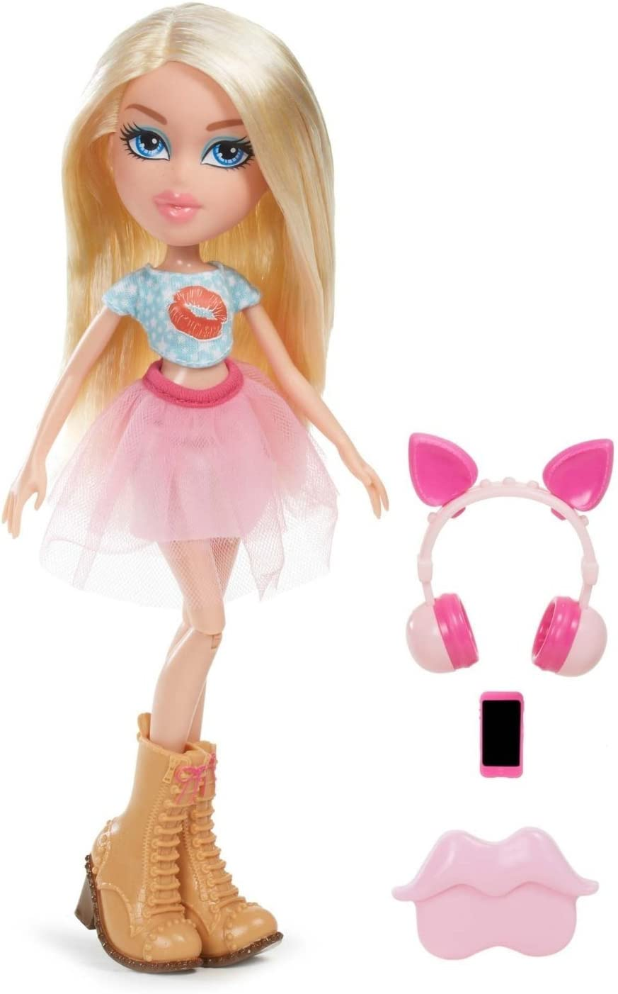 Bratz Remix Doll Cloe Cian, Rosa, Color Blanco muñeca - muñecas (Beige, Cian, Rosa, Color Blanco, Femenino, Chica, 5 año(s), De plástico, CE)