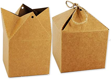Starpalst, Pack de 6 Cajas Kraft, Caja de Regalo, de Cartón, Para ...