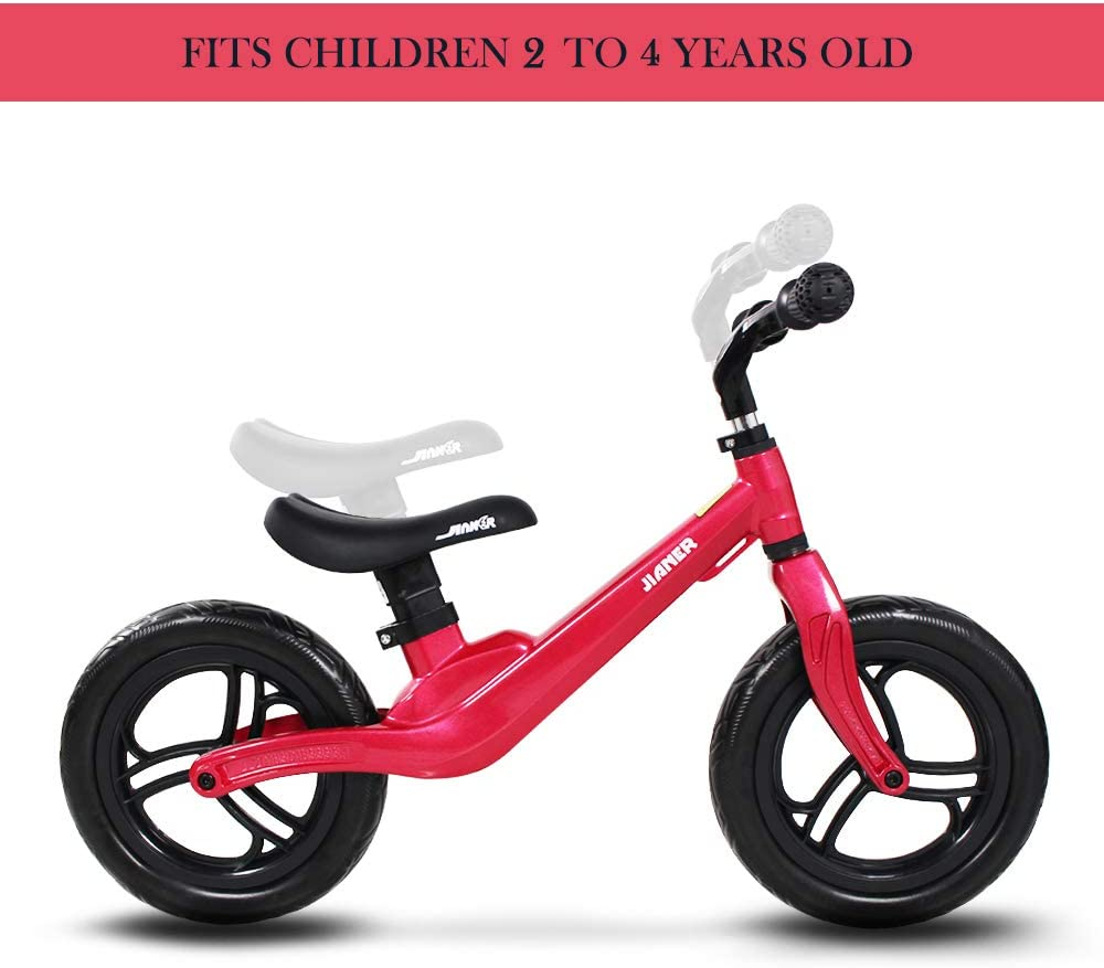 COEWSKE 12 Balance Bike Magnesium Alloy No Pedal Walking Balance Entrenamiento Bicicleta para ni/ños y ni/ños de 2 a 4 a/ños