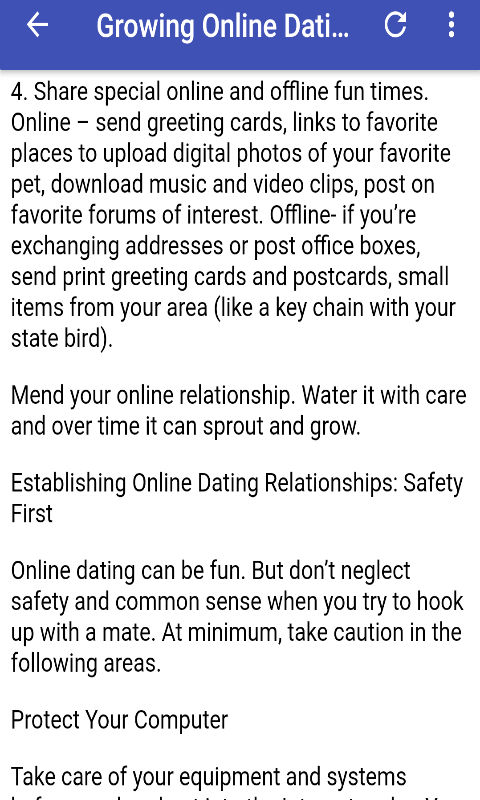 dating online clips