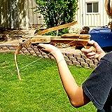 Adventure Awaits! - Handmade Wood Toy Crossbow