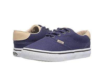 994db0862e6 Vans Boy s Era 59 (Veggie Tan) Crown Blue Tan First Walker Shoes VN0A38ECMN5