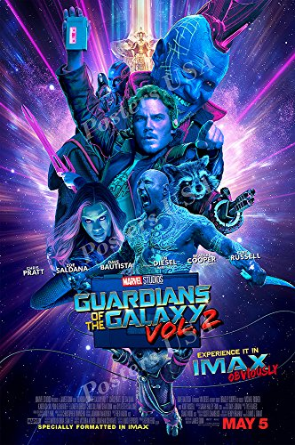 Posters Usa   Marvel Guardian Of The Galaxy Vol  2 Ii Movie Poster Glossy Finish   Fil242  24  X 36   61Cm X 91 5Cm