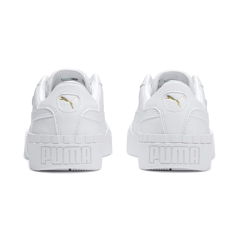 Amazon.com   PUMA Cali Womens White Sneakers-UK 7 / EU 40   Fashion Sneakers