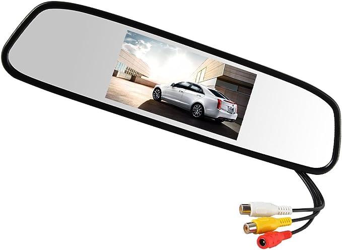 Pathson 4 3 Hd Digital Led Anti Glare Auto Rückspiegel Elektronik