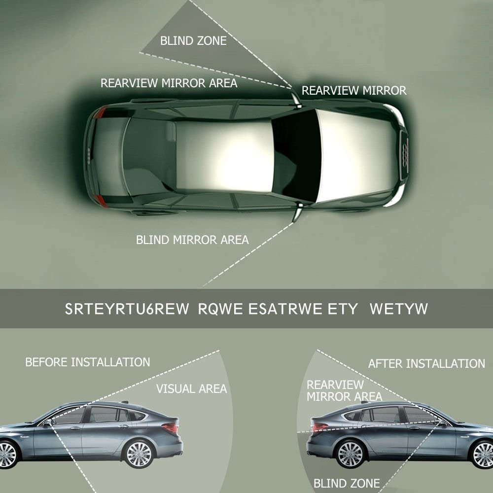MASO Rechte Fahrerseite BEHEIZTER FLACHT/ÜR SPIEGELGLAS