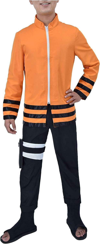 DAZCOS US Size The Last Uzumaki 7th Hokage Cosplay Costume