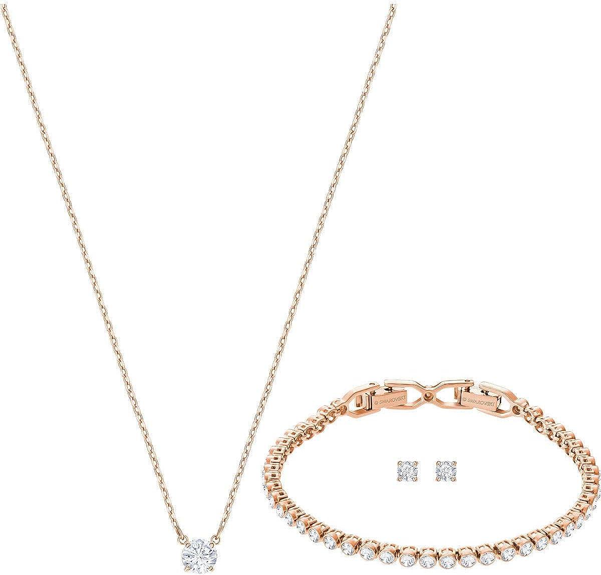 5480468 Swarovski Juego de joyas Mujer chapado en oro