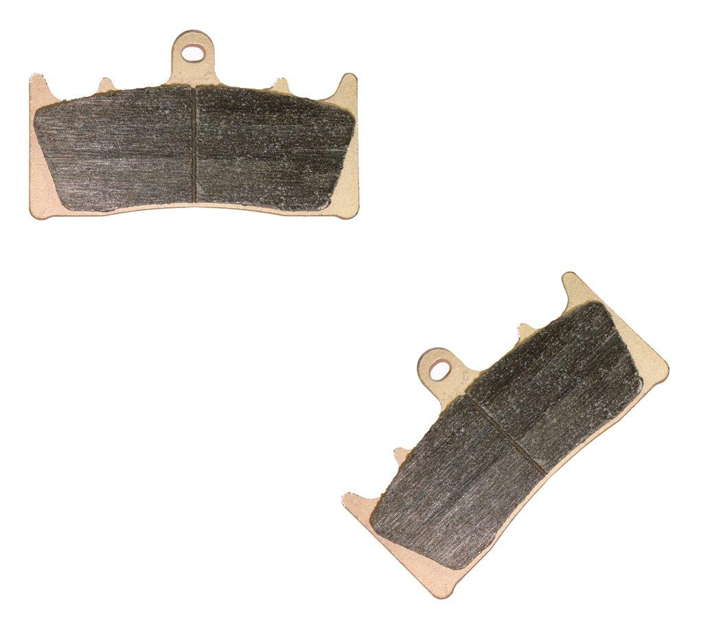 2 Pads Trasero Sint/éticas de la Juego de Pastillas de fit GSX-R1300 GSXR1300 GSXR GSX R GSX-R 1300 Hayabusa 99 00 01 02 03 04 05 06 07 1999 2000 2001 2002 2003 2004 2005 2006 2007 1 Pair