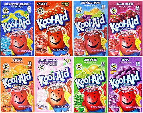 Kool-Aid Drink Mix, Variety Pack of 8 Flavors, 48 ()
