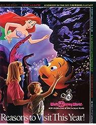 Disney Little Mermaid vintage ad original 2pg 8x10 clipping magazine photo #R9090
