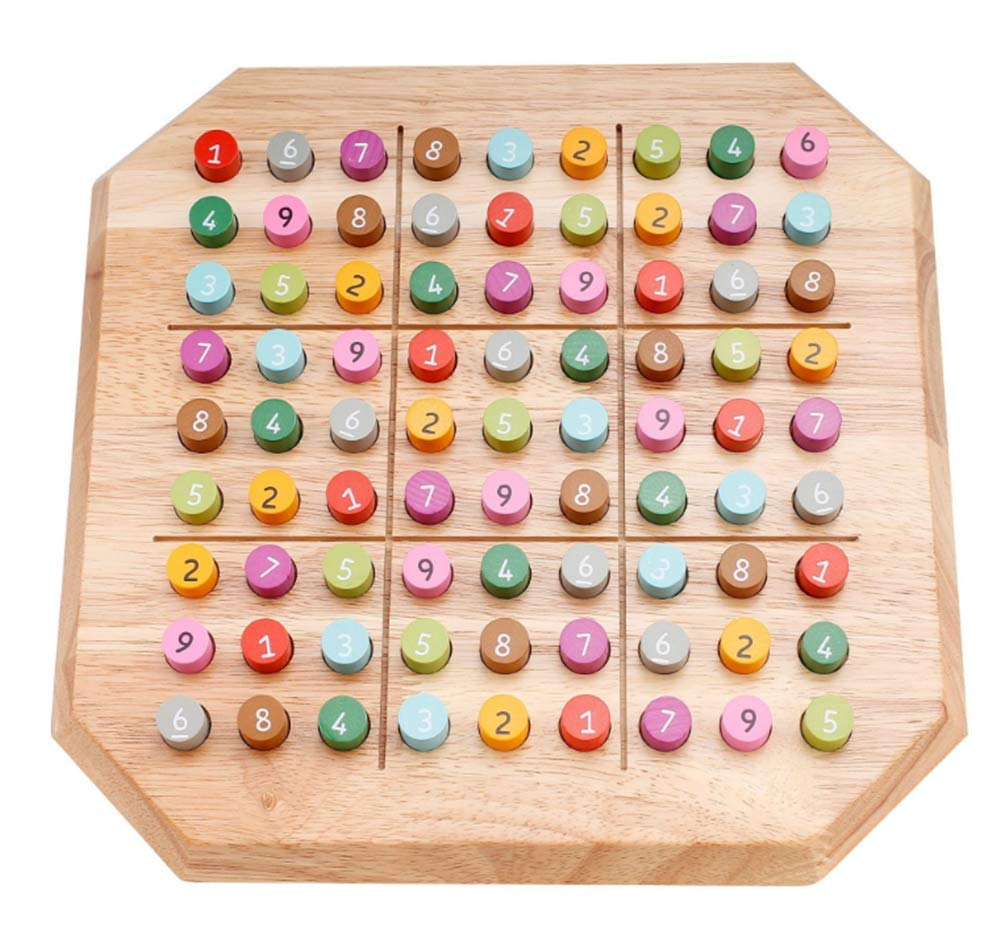 Zest Sudoku Puzzles Wooden Sudoku Board Game Travel Game Large Family Toys by Zest
