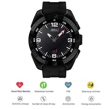 Pinkbenmus - Reloj Con GPS Para Correr / Micrófono anti-ruido, Reloj Inteligente Bluetooth