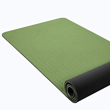 Lcxligang - Esterilla de Yoga clásica de 1/4 Pulgadas ...