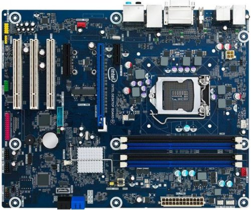 Intel Desktop Board DZ77SL-50K Media Series - Motherboard - ATX - LGA1155 Socket - Z77 (PF5631) Category: Motherboards