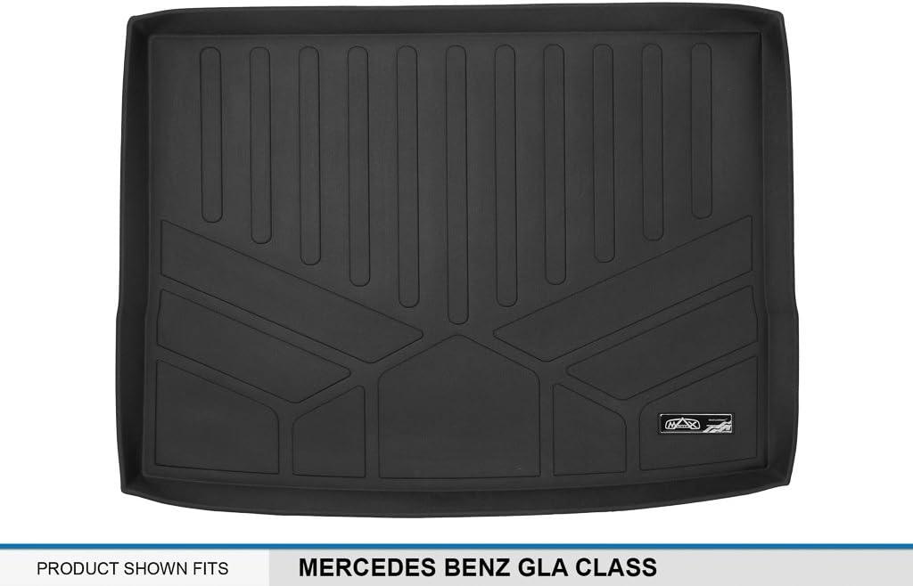MAXLINER All Weather Cargo Liner Floor Mat Black for 2015-2018 Mercedes Benz GLA Class