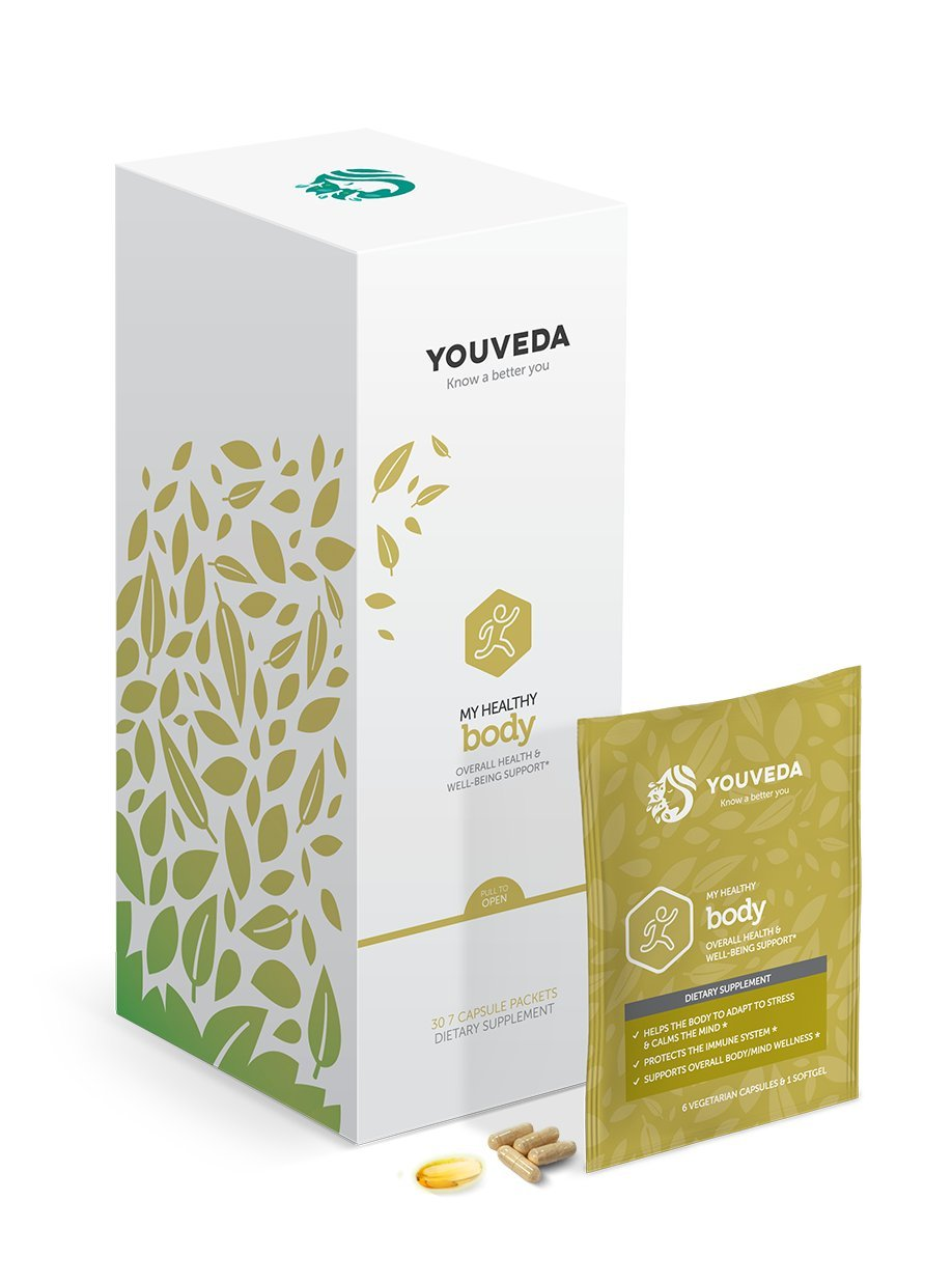 Youveda My Healthy Body Capsules, 30 Count