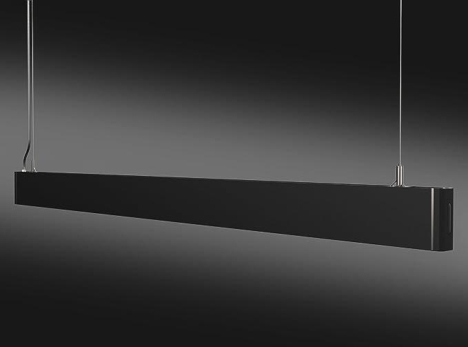 Lampade Da Ufficio A Soffitto : Kjlars led lampada a sospensione nera lampadari plafoniere lampada