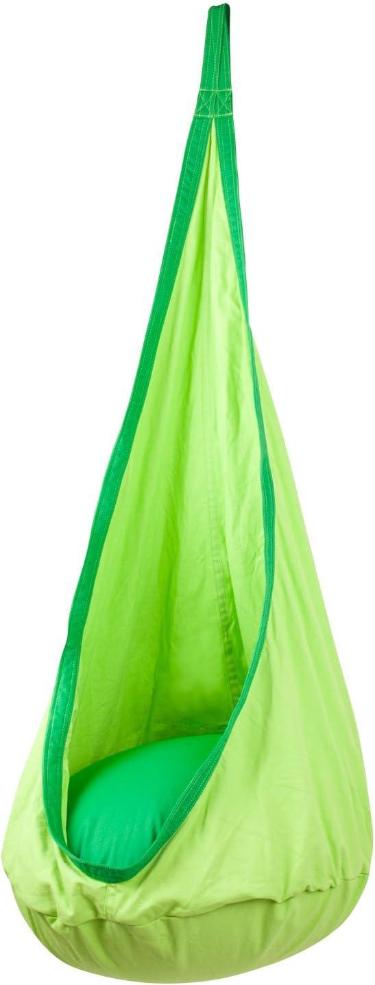 AMAZEYOU Kids Hanging Teepee Tent Style, Swing Hammock Indoor Outdoor Use