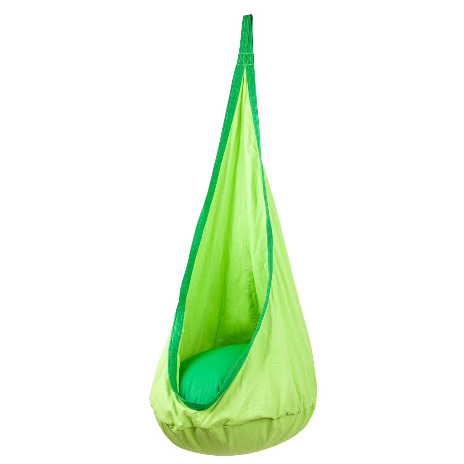amazon    driftsun hammock pod kids swing   outdoor and indoor children u0027s hammock chair nook   hardware included  green   garden  u0026 outdoor amazon    driftsun hammock pod kids swing   outdoor and indoor      rh   amazon