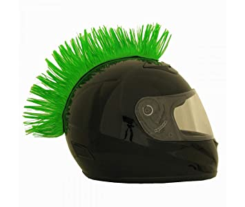 Cresta verde para casco - 24014