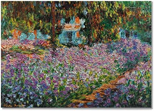 Monet Wall Art Collection Irise