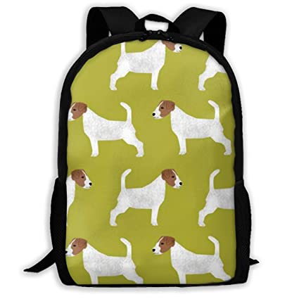 d96d4c654cb2 Amazon.com: KKLEIS9 Jack Russell Terrier Fashion Laptop Backpack ...