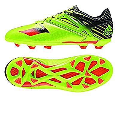 987bb25278bd Adidas Messi 15.1 J FG AG Cleats - Semi Solar Slime   Infrared   Black