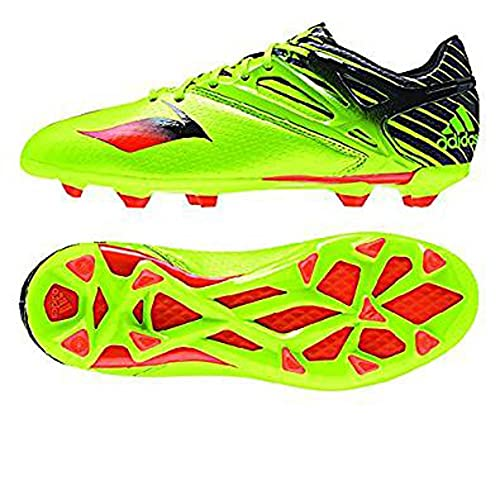 c9693215d4 Adidas Messi 15.1 J FG AG Cleats - Semi Solar Slime   Infrared   Black