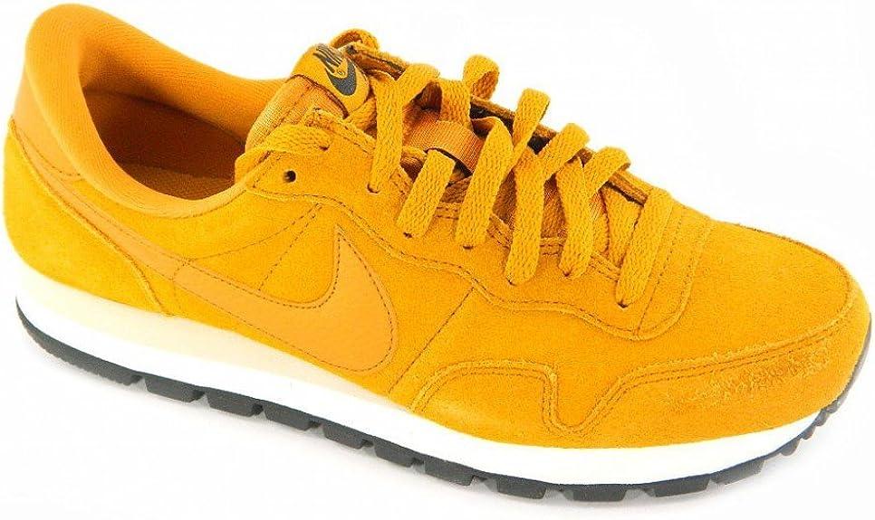 Nike Pegasus 83 Suede zapatillas de deporte para hombre, color Amarillo, talla 40: Amazon.es: Zapatos y complementos