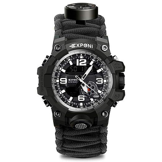 Sport Multifonctionnel Militaire De Montre Pour Bracelet Homme e2YEWDH9I