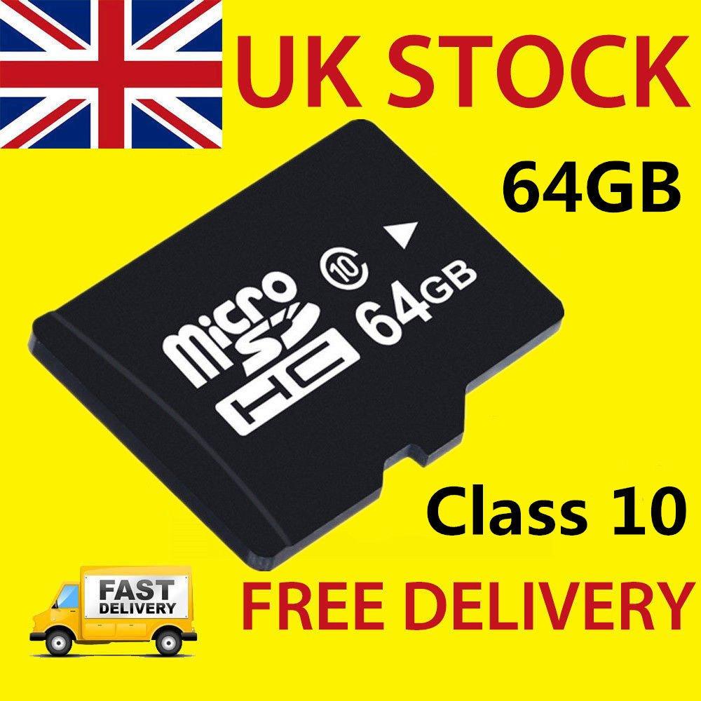 SmartTech - Tarjeta Micro SD DE 64 GB (Clase 10, TF, Memoria Flash ...
