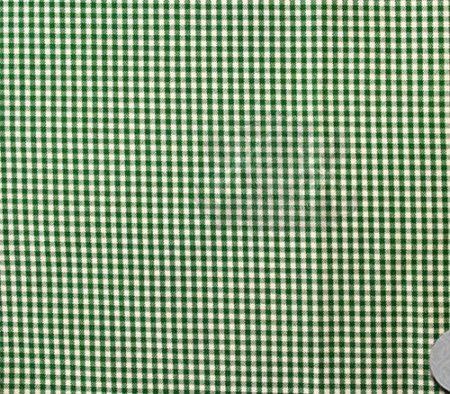 Poly Poplin Gingham Fabric Mini Checkers 58