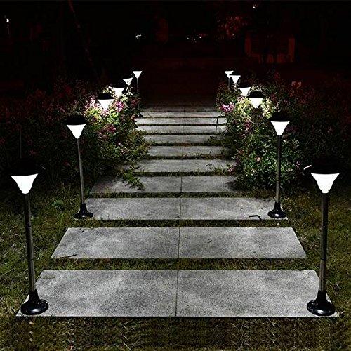 Bazaar Solar LED Light Outdoor Courtyard Garden Lawn Waterproof Street Lamp by Big Bazaar