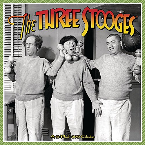 Three Stooges Wall Calendar (2019)
