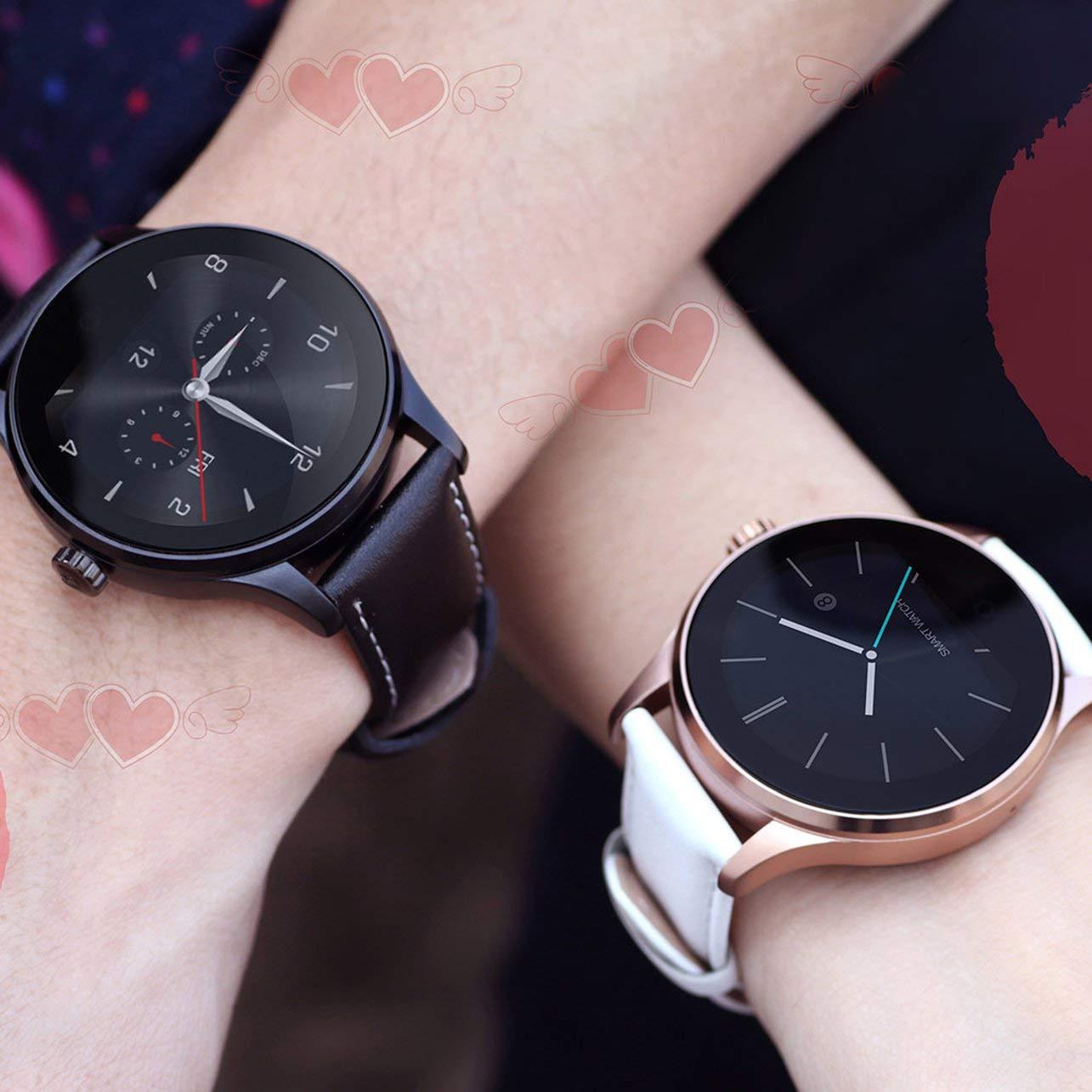 WOSOSYEYO K88H 4.0 Metal Smart Health Reloj clásico SmartWatch ...