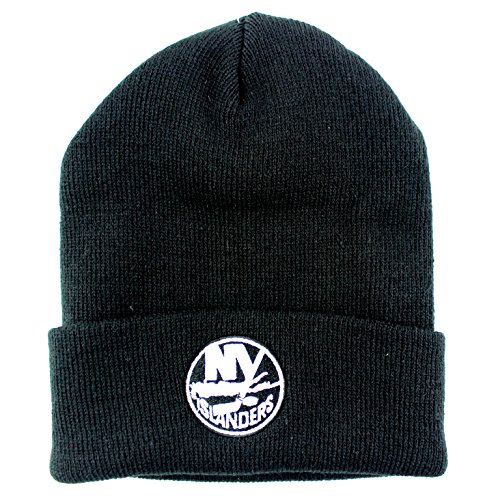 58fce5a115f New York Islanders Fitted Hats. New York Islanders NHL Basic Beanie Cuffed  Knit Hat Black