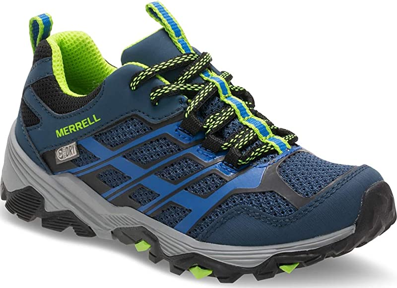 latest sale new list info for Ml-Boys Moab FST Low WTRPF Rise Hiking Boots